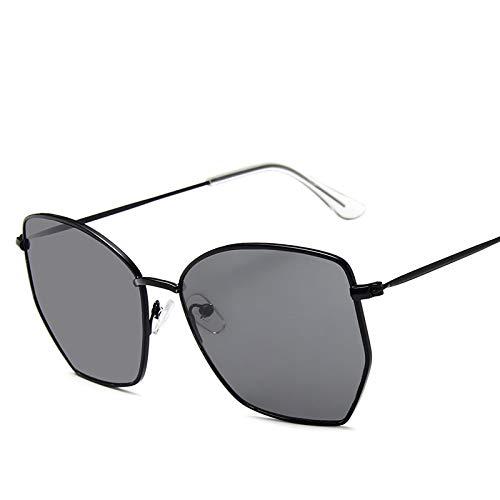 Secuos Moda Gafas De Sol De Montura Grande para Mujeres Y Hombres, Gafas De Sol De Moda De Diseñador De Moda, Montura De Metal Vintage, Gafas Femeninas 4