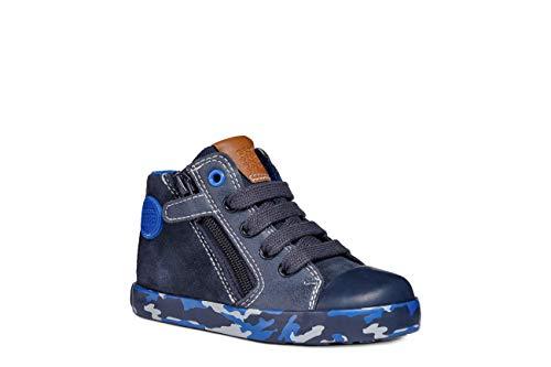 Geox Baby Jungen B Kilwi Boy B Sneaker, Blau (Navy/Royal C4226), 21 EU