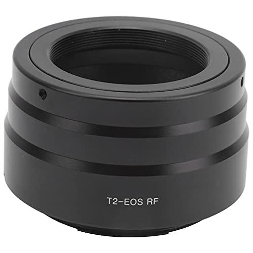 PUSOKEI Adaptador de cámara telescópica M42x0,75 mm, Adaptador de Anillo T2 con Interior de extinción, Antideslizante, Ajuste preciso, Accesorio de telescopio para T2 a para cámara Canon EOS R Mount