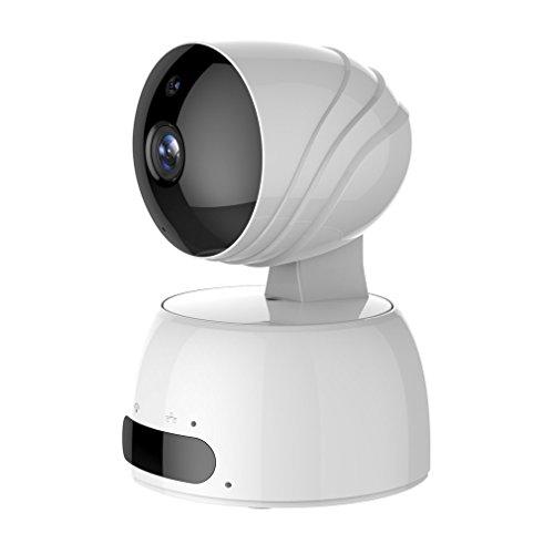 IP cámara WiFi LESHP camaras de Vigilancia inalámbrico HD Pan/Tilt/Zoom, Guardar Videos en Nube, Seguridad IP de vigilancia para casa, P2P IR Vision...