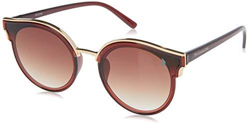 Óculos de Sol Polo London Club lente com Proteção UVA/UVB - Kit acompanha com estojo e flanela, Marrom com dourado