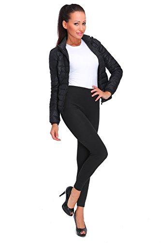 FUTURO FASHION - Legging Thermique pour Femme - Doublure Polaire/très Chaud - FX2P8 - Noir - 48