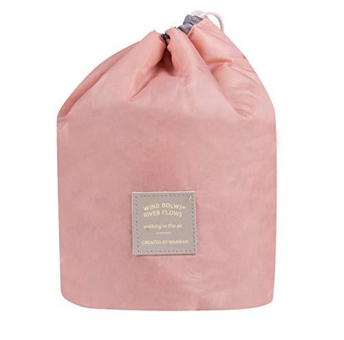 ZKYXZG Trousse de Maquillage,Trousse de Maquillage cosmétique Trousse de Toilette Lavage Beauty Case Organisateur de Voyage Pouch Holder Rouge Rose Vert Jaune, Rose
