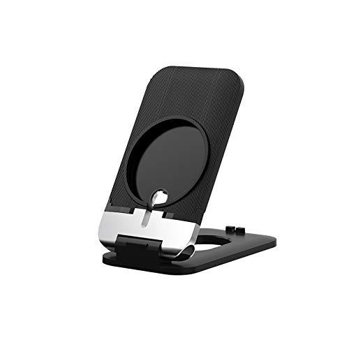 Not application Soporte de Cargador Plegable inalámbrico Soporte Plegable Base de estación de Carga portátil Ajustable para iPhone 12 Series