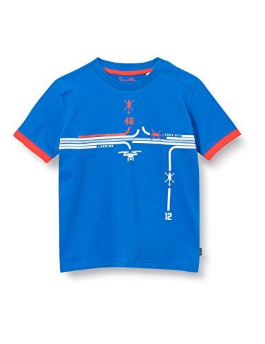 Sanetta Jungen blau T-Shirt, Blue Breeze, 110
