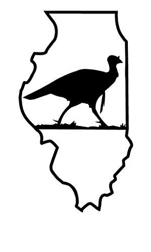 TAMENGI Turkey Hunting Window Sticker Decal Corn Hole Game Illinois NRA NWTF