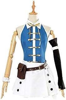 【ミドリ屋】ルーシィ・ハートフィリア Lucy 豪華セット コスプレ コスプレ衣装 コスチューム 高級 cosplay XL