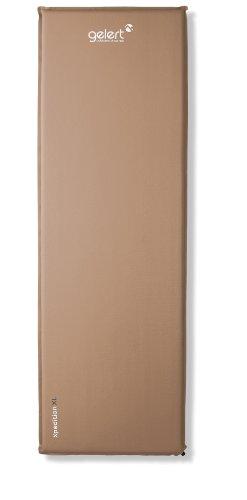 Gelert Selbstaufblasbare Isomatte X-pedition, cocoa/peat, 198 x 63 x 3 cm, ABD062C63