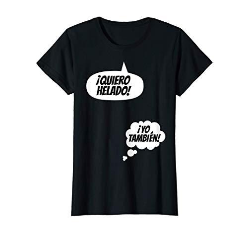 Mujer Anunciar el embarazo es divertido El bebé está llegando 2021 Camiseta