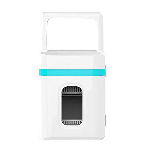 Lijing koelkast voor dranken, mini-koelkast, mini-bar, 2 planken, geluidsarm, 12 V, 220 V, gebruikt in verschillende auto's en familie. Bluewhite