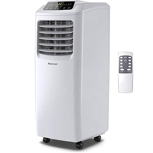 Pro Breeze 4-in-1 Portable Air Conditioner 9000 BTU with Remote Control, 24 Hour...