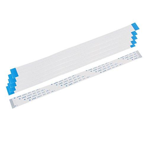 uxcell AWM 20624 80C 60V VW-1 26pin FFC Flexible Flat Cables 200mm Long 6 PCS