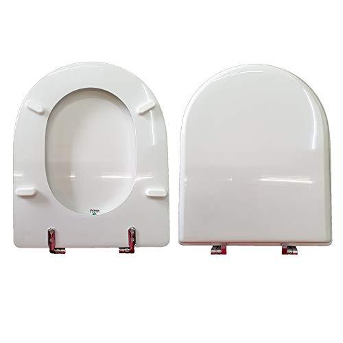 WC-Sitz MAGNUM VILLEROY & BOCH kompatibel lackiert weiß glänzend Polyester