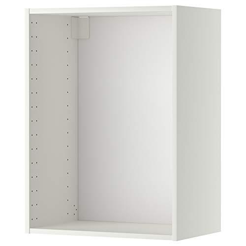 METOD väggskåp ram 60 x 80 cm vit