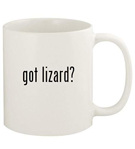 got lizard? - 11oz Ceramic White Coffee Mug Cup, White