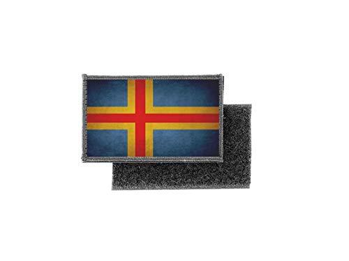 Aufnäher patch aufbügler vintage gedruckt flagge fahne aland
