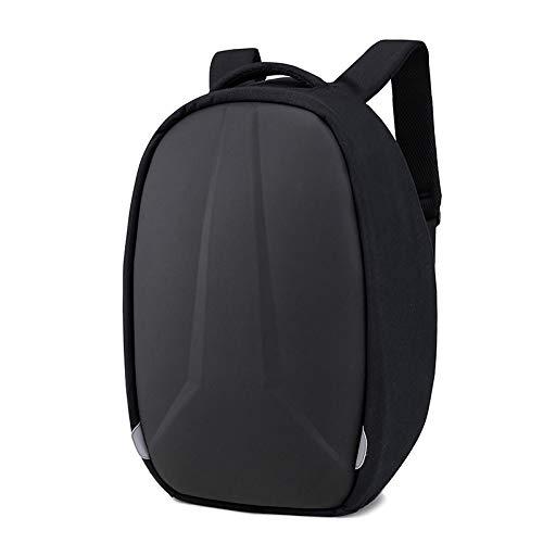 Mochila cómoda y Duradera Impermeable Mochila para Ordenador Portátil para Hombre, Mochila Impermeable con Carga USB, An