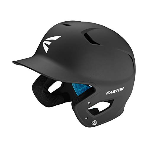 EASTON Z5 2.0 Batting Helmet | Baseball Softball | Senior | Matte Black | 2020 | Dual-Density Impact Absorption Foam | High Impact Resistant ABS Shell | Moisture Wicking BioDRI Liner | Removable E