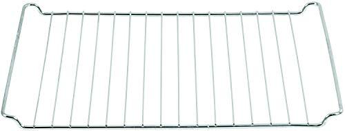 ICQN Backofenrost | 45,5 x 37,5 cm | Gitter für Bosch Siemens Neff Constructa Profilo Backofen | Backofengitter | Backgitter | Grillrost für Backofen | Verchromt mit Edelstahl | 455 x 375 mm