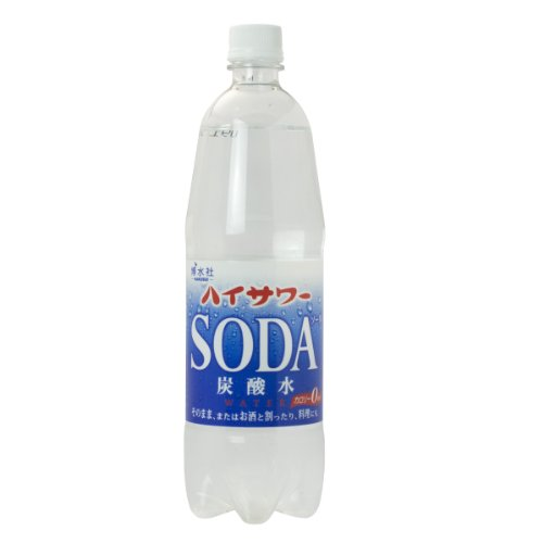 博水社 ハイサワー 炭酸水 ペット 1L×15本