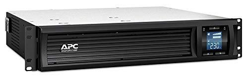 APC Smart-UPS SMC SmartConnect - SMC1000I-2UC - Sistema de Alimentación ininterrumpida 1000VA (montaje en rack 2U, Compatible con Cloud, 8 Salidas IEC-C13) (Reacondicionado)