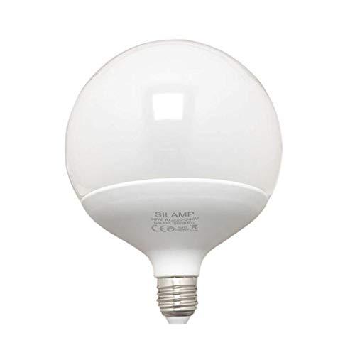 Bombilla E27, LED, 25 W, 220 V, G140 300°, globo – blanco frío 6000 K – 8000 K