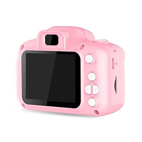 Cámara Digital para niños Juguete Cámara de Fotos Recargable USB Cámara Digital de Juguete Pantalla de 2.0 Pulgadas Cámara HD de 1080P con Tarjeta TF de 32GB y Funda de Silicona para niñas