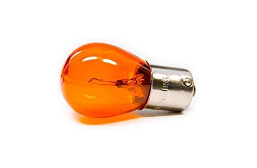 10 X BAU15s Voiture Lampe S25 PY21W 21W Clignotant Ampoule Jaune 12V