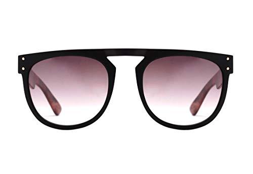 Óculos de sol Ghost, Evoke, Masculino, Preto Fosco/Marrom, Único