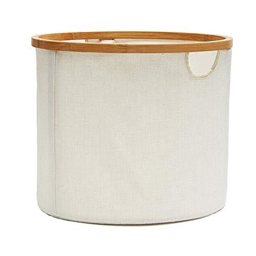 AMYHY Cesta de almacenamiento plegable impermeable para ropa sucia, bolsa de almacenamiento portátil, ideal para baño, dormitorio, biblioteca de coches