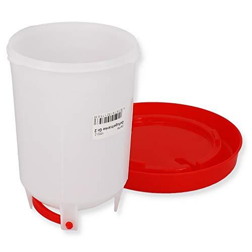 Geflügeltränke automatisch Hühnertränke Stülptränke Hühner Tränke zum Aufhängen oder Hinstellen (Gr.2) - 2