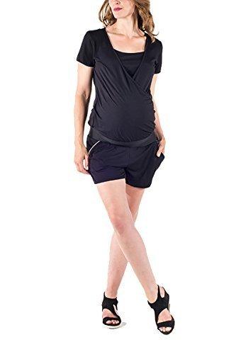 Love2Wait Cargoshorts Korte broek Umstandsshorts Shorty o. Jeans Shorts Alstand mode Dames Broek