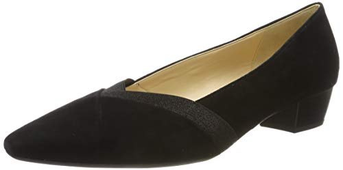 Gabor Shoes Damen Basic Pumps, Schwarz Schwarz 17, 40.5 EU
