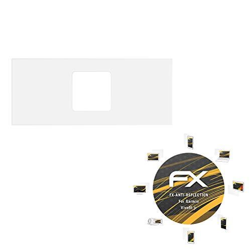 atFoliX Panzerfolie kompatibel mit Garmin Vivofit jr Schutzfolie, entspiegelnde & stoßdämpfende FX Folie (3X)