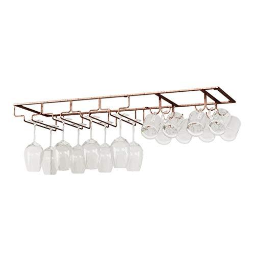Wijnglashouder smeedijzer huishouden multi-size Stemware-bekerhouder houdbaar Little