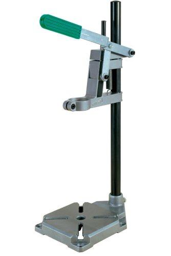 wolfcraft Bohrständer 3406000 | Praktischer Bohrmaschinen Ständer für präzises Bohren ohne Verrutschen | Einfaches und sicheres Befestigen der Bohrmaschine