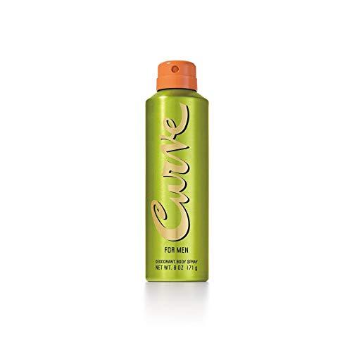 Curve for Men, Men's Deodorant Spray 6.0oz