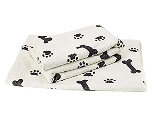 Zwipes Large Microfiber Pet Towels (Size: 30' x 36'), 2-Pack Soft Terry Cleaning Cloths
