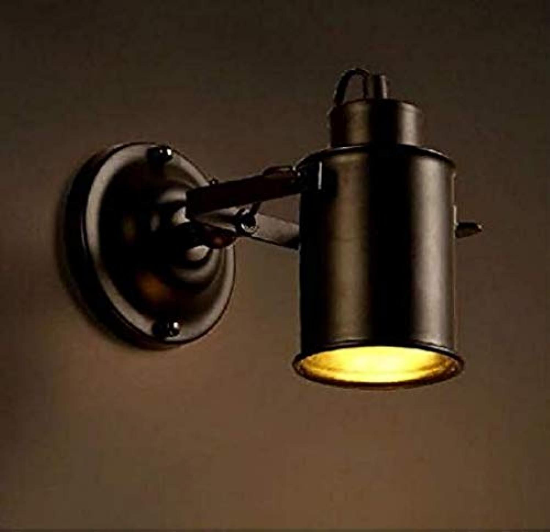 Vintage Einstellbare Doppelschwinge Wandleuchte Licht E27 für WohnzimmerKüche Esszimmer Loft Coffee Bar (Lampe Nicht enthalten)