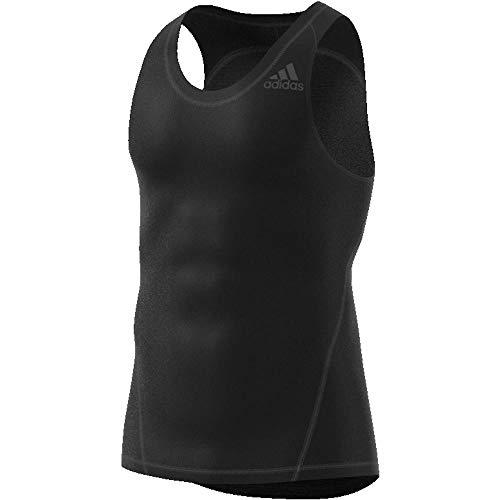 adidas Ask SPR tee Tk Camisa de Golf, Hombre, Negro, S