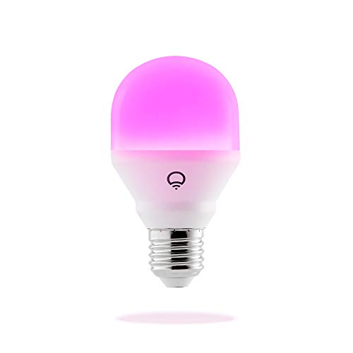 Lifx L3A19MC08E27 Bombilla Mini E27, Ajustable, no Requiere Concentrador, 9 W, Multicolor, Paquete de 1
