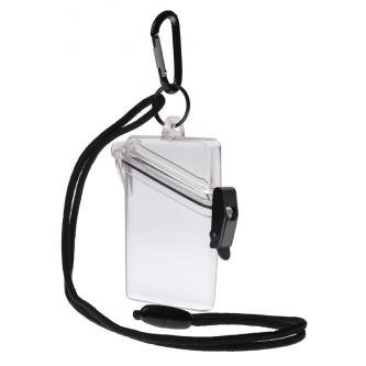 Witz 00411-Clear See it Safe Waterproof ID/Badge Holder Case, Clear