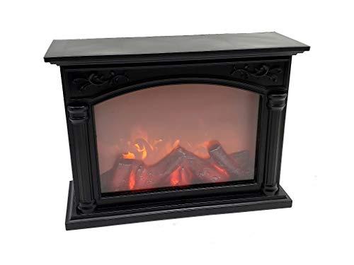 Fbright Led EB2425003 - Chimenea Decorativa LED Efecto Llama de Fuego, Abs