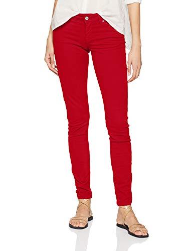 Pepe Jeans Damen Soho Jeans, Royal Red, 32W / 32L