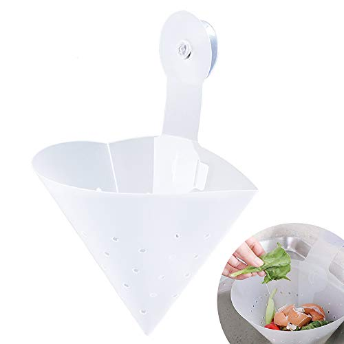 De.Zev Faltbarer Filter Spülbecken Filter, Waschbecken Anti-verstopfungsfilter, Anti-Blockier-Gerät, Faltbare freistehende Waschbecken Stopper, Küchenspüle Badewanne Spüle Sieb für Küche Bad