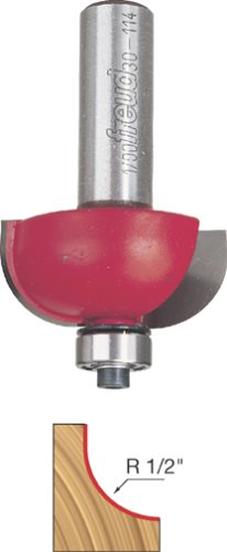 Freud 1/2' Radius Cove Bit with 1/2' Shank (30-114)