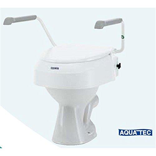 Toilettensitzerhöung mit Armlehnen