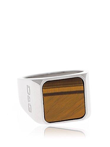 Dolce & Gabbana Dolce&Gabbana DJ0906 - Anillo de Hombre de Acero Inoxidable (Talla: 19)