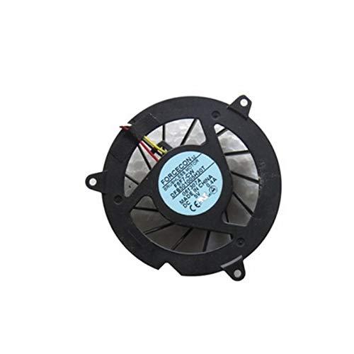 FCQLR Nuevo Ordenador portátil CPU enfriamiento Ventilador para Acer Aspire 4710G 4715Z...