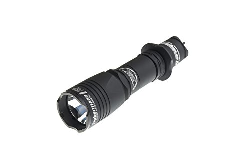 Armytek Dobermann / XP-E2 Red / 200lm / 5°:40° / 1x18650 or 2xCR123A